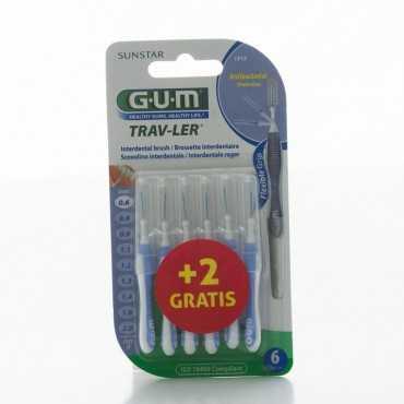 GUM Proxabrush Trav-Ler 0,6 mm PURPLE 1312