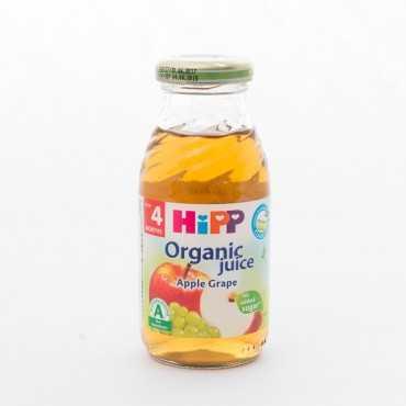 HIPP Apple Grape Organic Juice, 200ml