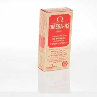 VITABIOTICS Omega H3 30 Capsules
