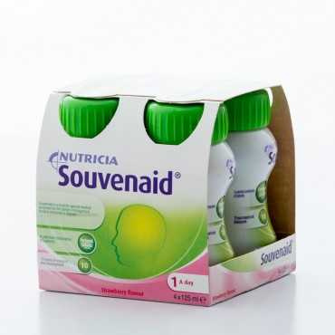 Souvenaid Strawberry 6 x 4 x 125ml