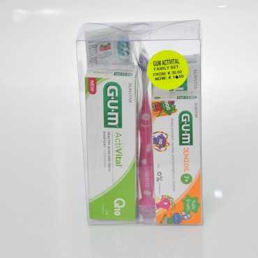 GUM OFFER Activital Family SET  2T/P & 2T/Br, 1T/P & 1T/Br Kids
