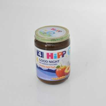HiPP Good Night Semolina Apple Peach 190g - BIO