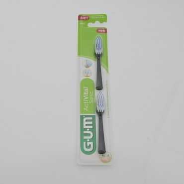 GUM Refills for GUM Activital Battery Operated Toothbrush