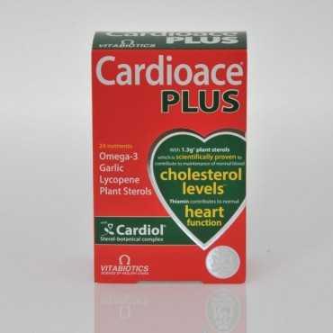 VITABIOTICS Cardioace Plus 60 Capsules