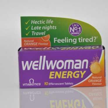 VITABIOTICS Wellwoman Energy Orange Fizz 10 Tabs