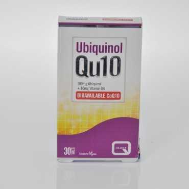 QUEST Ubiquinol Qu10 100mg 30 Caps (1 + 1 FREE)