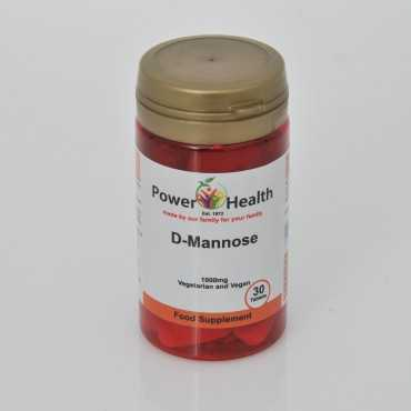 Power Health D-Mannose 1000mg 30 Tabs