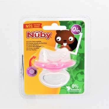 NUBY GUM-EEZ SILICON TEETHER 0+