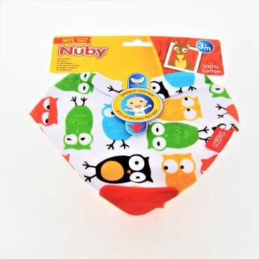 NUBY BIB WITH TEETHER