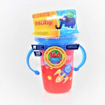 NUBY 360 CUP WITH COVER 240ML