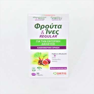 ORTIS Fruits & Fibres 30 Tablets