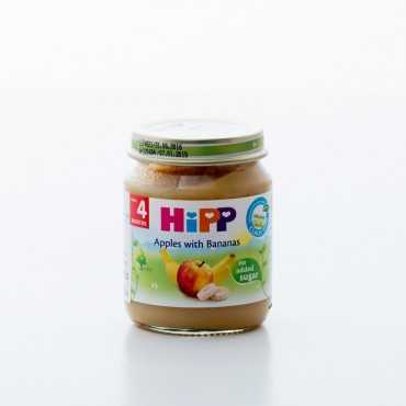 HiPP Apples with Bananas, BIO, 125gr