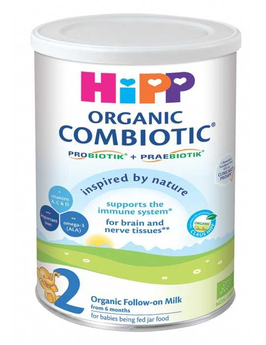 HiPP 2 Combiotic Organic Follow-on Milk 800gr