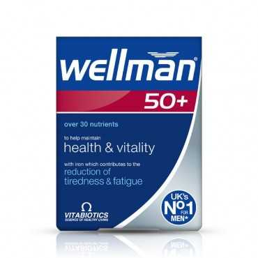 VITABIOTICS Wellman 50+ 30 Tablets