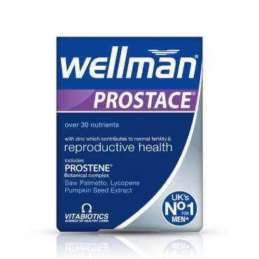 VITABIOTICS Wellman Prostace 60 Tablets