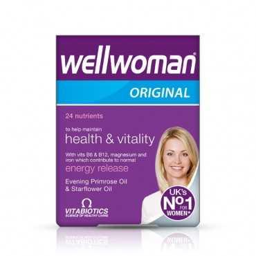 VITABIOTICS Wellwoman Original 30 Capsules ( 1+1 FREE )