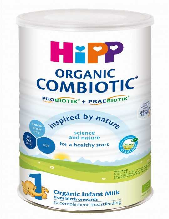 HiPP 1 Combiotic Organic Infant Milk, 800gr
