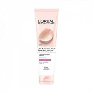 L'OREAL PARIS FINE FLOWERS CLEANSING GEL FOR DRY/SENSITIVE SKINS