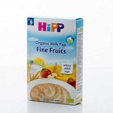 HiPP Fine Fruits, Organic Milk Pap, 250g