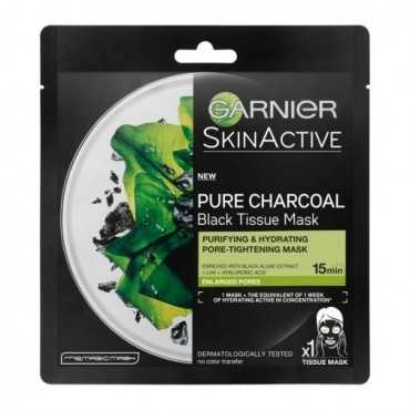 SKIN ACTIVE CHARCOAL TISSUE MASK 28G
