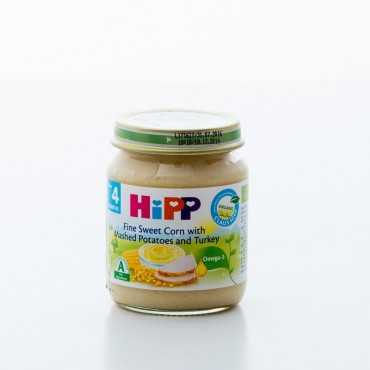 HiPP Fine Sweet Corn with Potatoes and Turkey, BIO, 125g