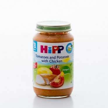 HiPP Tomatoes and Potatoes with Chicken, BIO, 220g