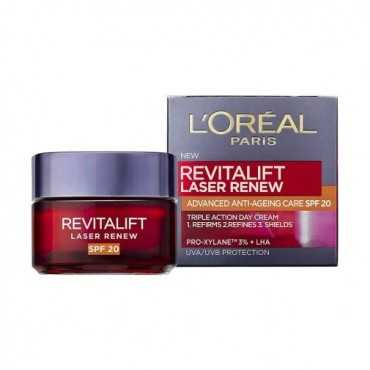 L'OREAL PARIS REVITALIFT LASER DAY CREAM SPF20