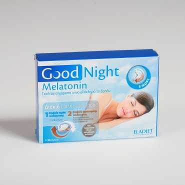Eladiet Good Night Melatonin 1mg 30 Tabs