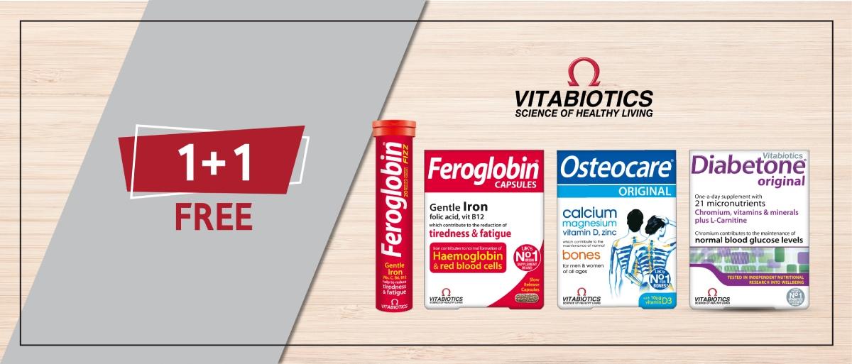 Vitabiotics 1+1